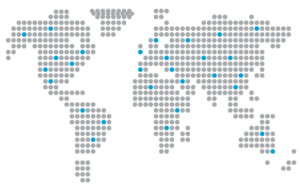Worldwide Shipping Map